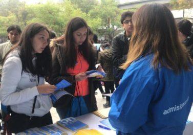 Embajadores participaron en el primer ensayo PSU masivo del año
