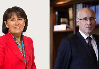 Prestigioso galardón Ingeniero Comercial distinguido 2019 y 2020 fue otorgado a Arturo Tagle y Victoria Vásquez